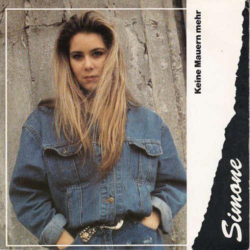 Cover Simone (27) - Keine Mauern Mehr  (7, Single) Schallplatten Ankauf