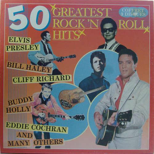 Cover Various - 50 Greatest Rock 'n Roll Hits (3xLP, Comp + Box) Schallplatten Ankauf