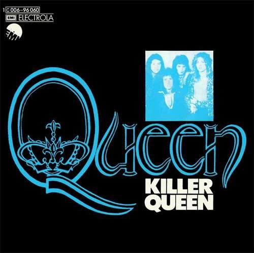 Cover zu Queen - Killer Queen (7, Single, 2nd) Schallplatten Ankauf