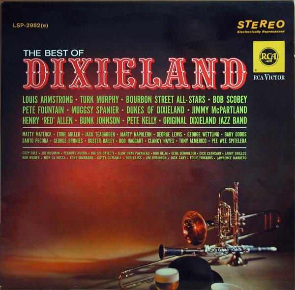 Cover Various - The Best Of Dixieland (LP, Comp) Schallplatten Ankauf
