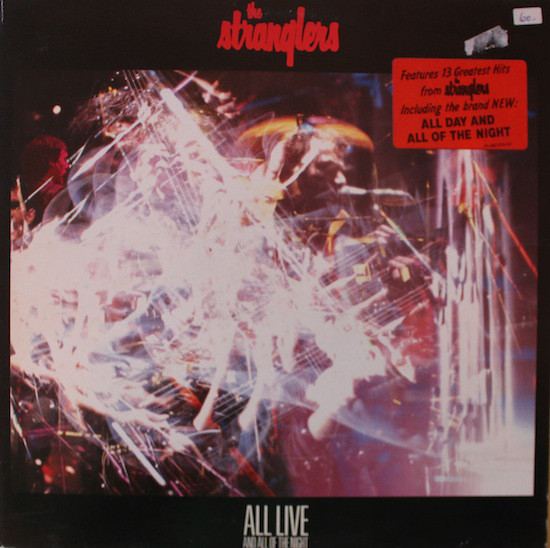 Cover The Stranglers - All Live And All Of The Night (LP, Album, Gat) Schallplatten Ankauf