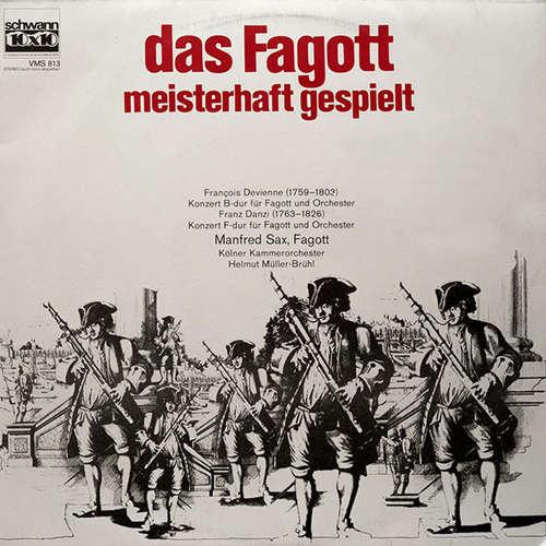 Bild Kölner Kammerorchester, Helmut Müller-Brühl, Manfred Sax - Das Fagott, Meisterhaft Gespielt (LP) Schallplatten Ankauf