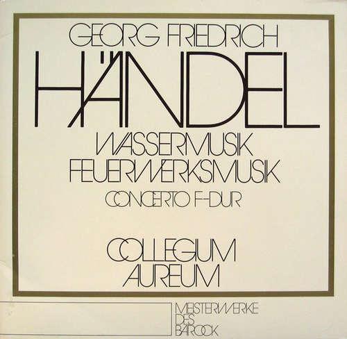 Bild Georg Friedrich Händel - Wassermusik / Feuerwerksmusik / Concerto F-dur (2xLP, Club, S/Edition) Schallplatten Ankauf