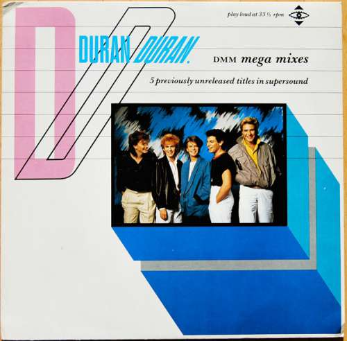 Cover Duran Duran - DMM Mega Mixes (12) Schallplatten Ankauf