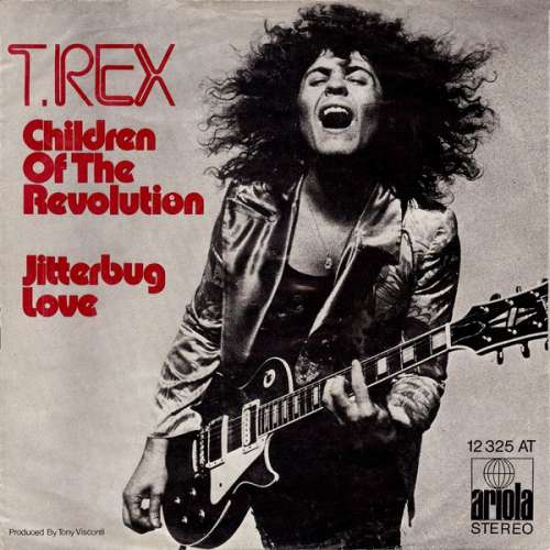 Bild T. Rex - Children Of The Revolution / Jitterbug Love (7, Single) Schallplatten Ankauf