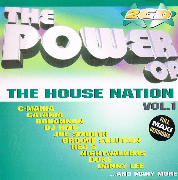 Cover zu Various - The Power Of The House Nation Vol. 1 (2xCD, Comp) Schallplatten Ankauf