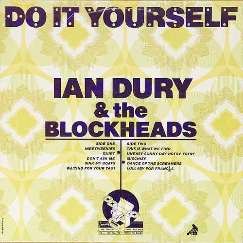Cover Ian Dury & The Blockheads* - Do It Yourself (LP, Album) Schallplatten Ankauf