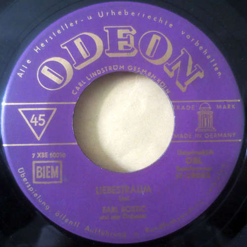 Bild Earl Bostic And His Orchestra - Liebestraum / Song Of The Islands (7, Single) Schallplatten Ankauf