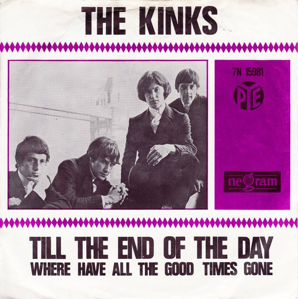 Cover The Kinks - Till The End Of The Day (7, Single, Vio) Schallplatten Ankauf