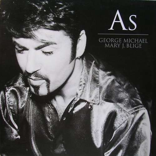 Cover George Michael & Mary J. Blige - As (12) Schallplatten Ankauf