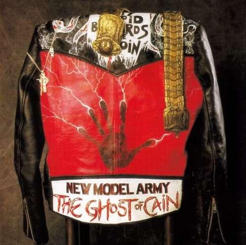 Cover New Model Army - The Ghost Of Cain (LP, Album) Schallplatten Ankauf