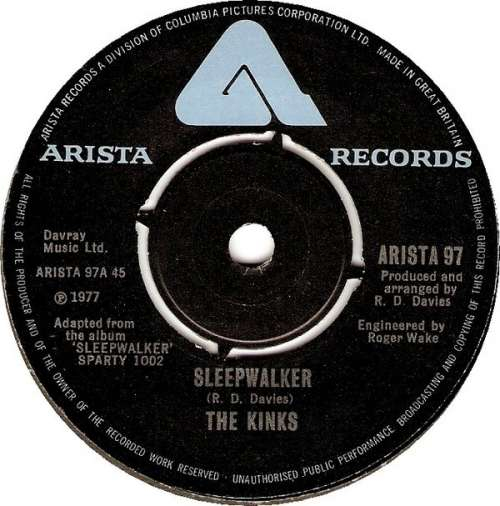 Cover The Kinks - Sleepwalker (7, Single) Schallplatten Ankauf