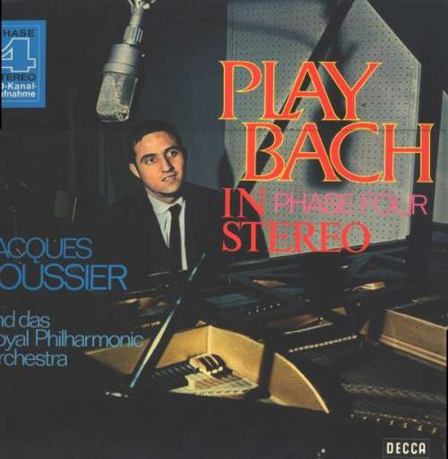 Bild The Jacques Loussier Trio* With The Royal Philharmonic Orchestra - Play Bach In Phase Four Stereo (LP, RE) Schallplatten Ankauf