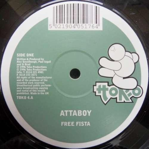 Cover Attaboy - Free Fista (12) Schallplatten Ankauf