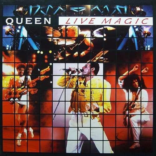 Cover Queen - Live Magic (LP, Album, Gat) Schallplatten Ankauf