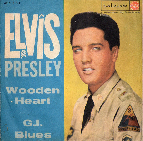 Cover Elvis Presley - Wooden Heart / G.I. Blues (7) Schallplatten Ankauf