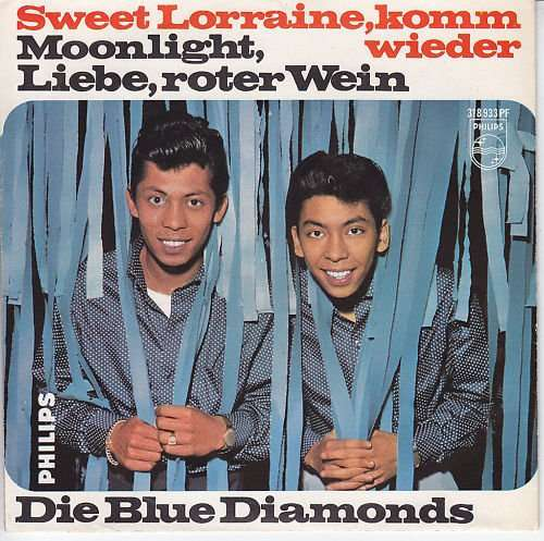 Cover Die Blue Diamonds* - Sweet Lorraine, Komm Wieder (7, Single, Mono) Schallplatten Ankauf