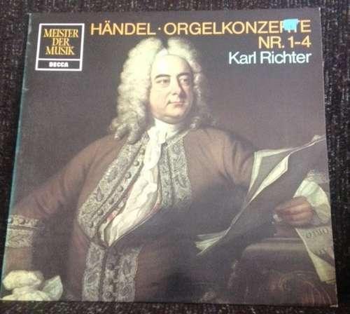 Cover zu Händel*, Karl Richter - Orgelkonzerte Nr. 1-4 (LP) Schallplatten Ankauf