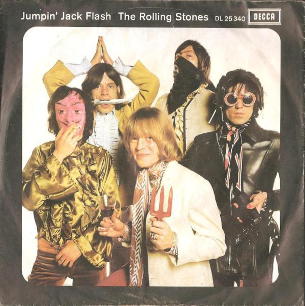 Cover zu The Rolling Stones - Jumpin' Jack Flash (7, Single) Schallplatten Ankauf