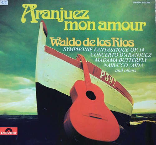 Cover zu Waldo De Los Rios - Aranjuez Mon Amour (LP, Comp) Schallplatten Ankauf