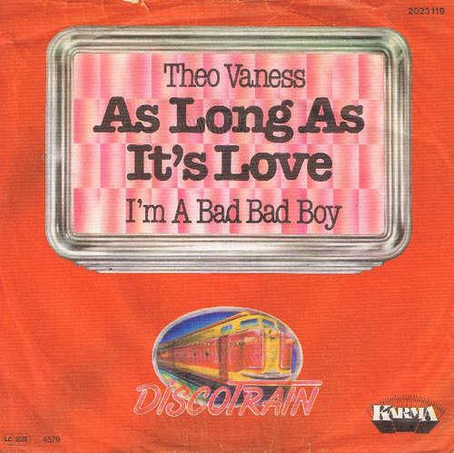 Bild Theo Vaness - As Long As It's Love (7, Single) Schallplatten Ankauf