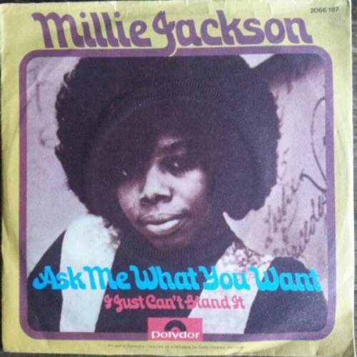 Bild Millie Jackson - Ask Me What You Want / I Just Can't Stand It (7, Single) Schallplatten Ankauf