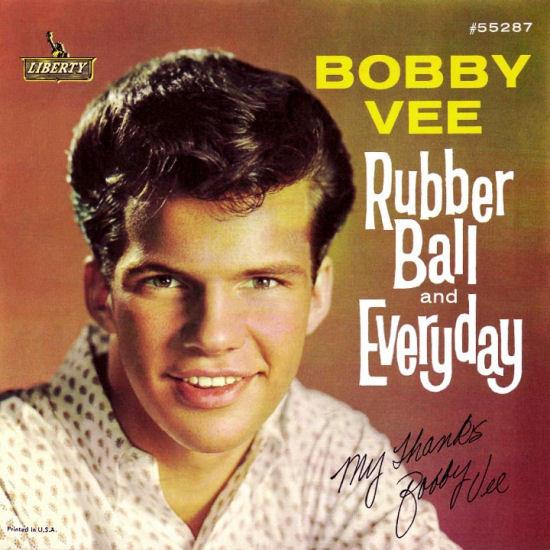 Bild Bobby Vee - Rubber Ball / Everyday (7, Single, Styrene, Mon) Schallplatten Ankauf