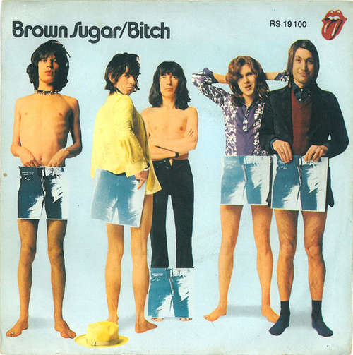 Cover zu The Rolling Stones - Brown Sugar / Bitch (7, Single) Schallplatten Ankauf
