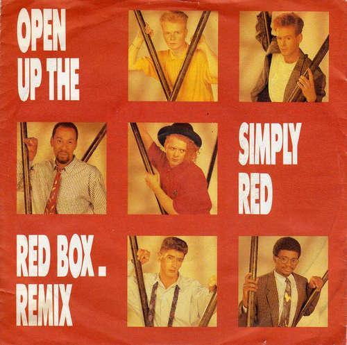 Bild Simply Red - Open Up The Red Box. Remix (7, Single) Schallplatten Ankauf