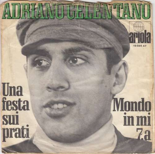 Bild Adriano Celentano - Una Festa Sui Prati / Mondo In Mi 7.a (7, Single) Schallplatten Ankauf