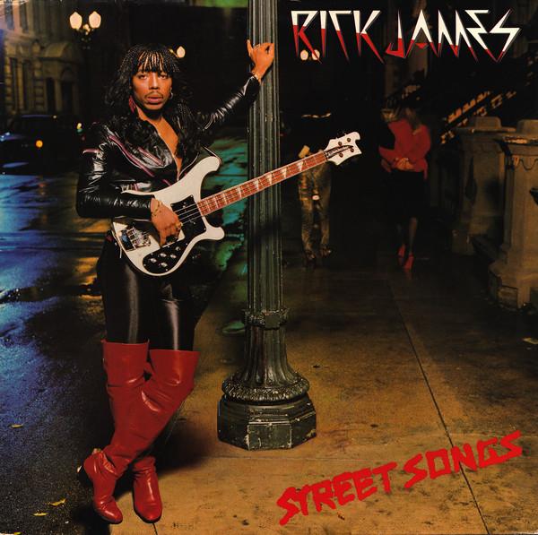 Cover Rick James - Street Songs (LP, Album) Schallplatten Ankauf
