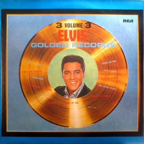 Cover Elvis Presley - Elvis' Golden Records Volume 3 (LP, Comp, RP) Schallplatten Ankauf
