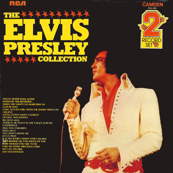 Cover Elvis Presley - The Elvis Presley Collection (2xLP, Comp, RE) Schallplatten Ankauf