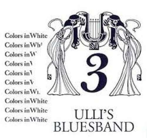 Bild Ulli's Blues Band - Colors In White (LP, Album) Schallplatten Ankauf