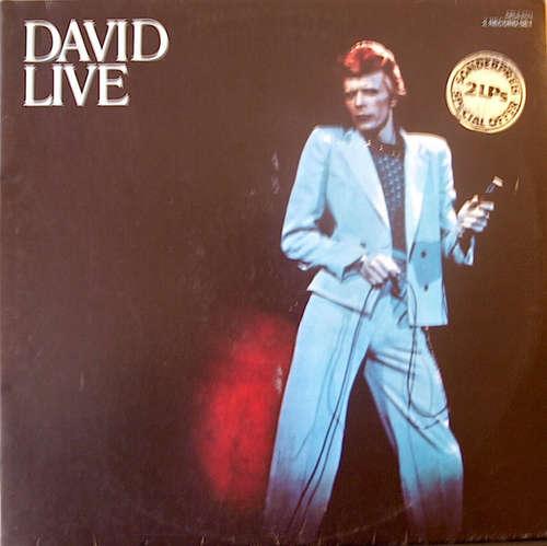 Cover David Bowie - David Live (2xLP, Album, Gat) Schallplatten Ankauf