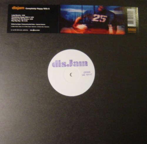 Cover Disjam - Completely Happy With It (12) Schallplatten Ankauf