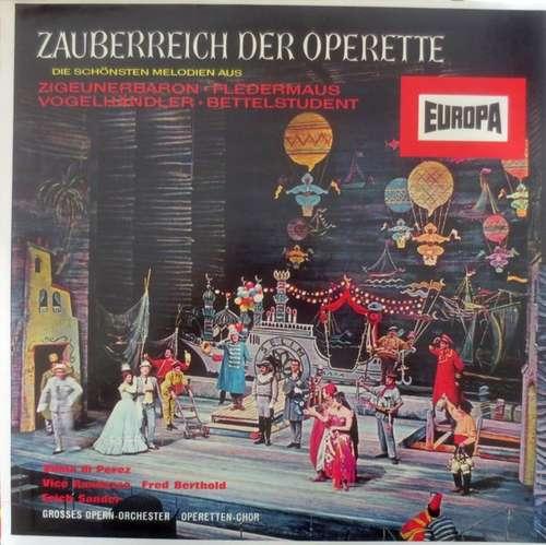Bild Grosses Opern-Orchester*, Operetten-Chor - Zauberreich Der Operette (LP, Comp, Mono) Schallplatten Ankauf