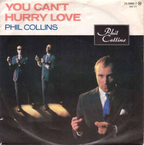 Cover Phil Collins - You Can't Hurry Love (7, Single) Schallplatten Ankauf