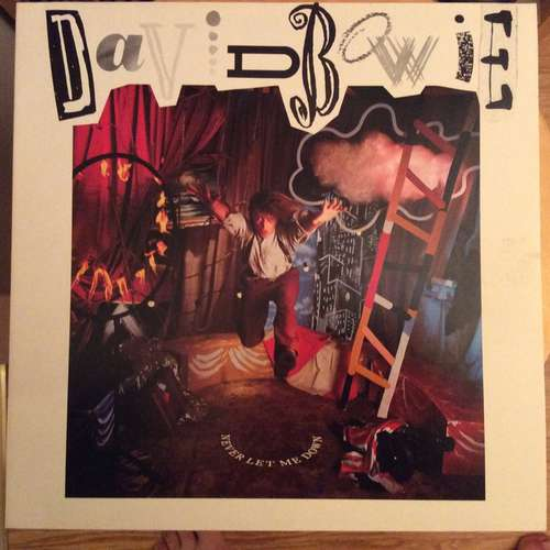 Cover David Bowie - Never Let Me Down (LP, Album, Club) Schallplatten Ankauf