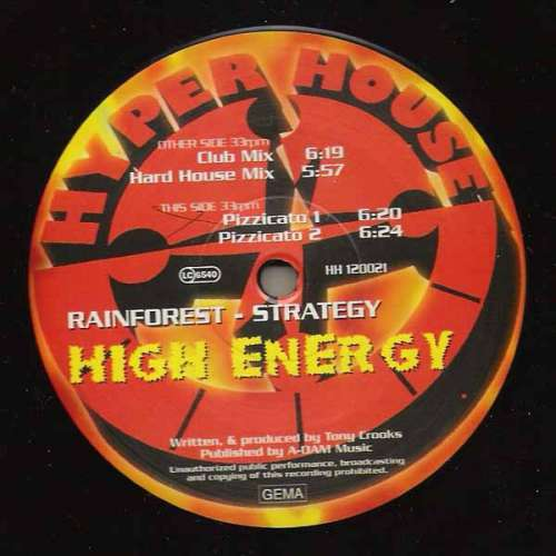 Cover Strategy - High Energy (12) Schallplatten Ankauf