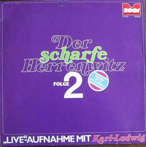 Cover zu Karl-Ludwig - Der Scharfe Herrenwitz Folge 2 (LP) Schallplatten Ankauf