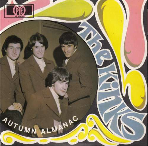 Cover The Kinks - Autumn Almanac (7, Single) Schallplatten Ankauf