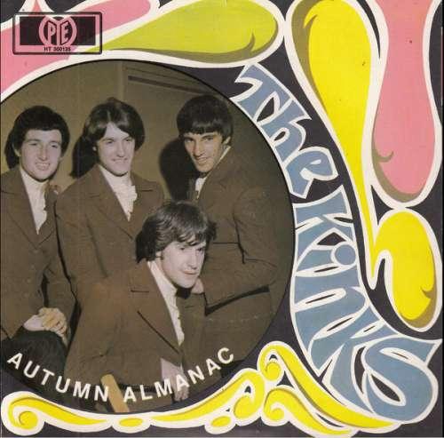 Cover The Kinks - Autumn Almanac (7, Single) Schallplatten Ankauf