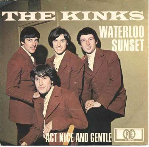 Cover The Kinks - Waterloo Sunset (7, Single, Mono) Schallplatten Ankauf