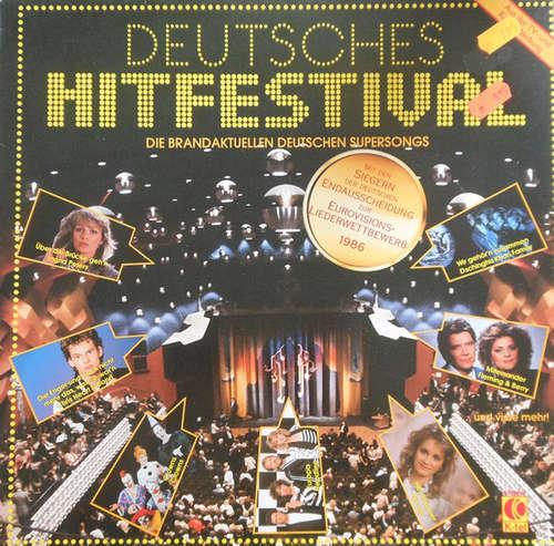 Cover Various - Deutsches Hitfestival - Die Brandaktuellen Deutschen Supersongs (LP, Comp) Schallplatten Ankauf