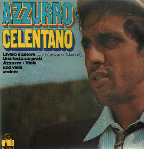 Bild Adriano Celentano - Azzurro (2xLP, Comp, RE) Schallplatten Ankauf