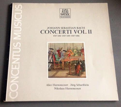 Bild Johann Sebastian Bach, Alice Harnoncourt, Jürg Schaeftlein, Nikolaus Harnoncourt - Concerti Vol. 2 BWV 1052 - BWV 1055 - BWV 1056 (LP, Gat) Schallplatten Ankauf