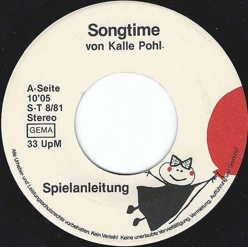 Cover Kalle Pohl - Songtime (7) Schallplatten Ankauf