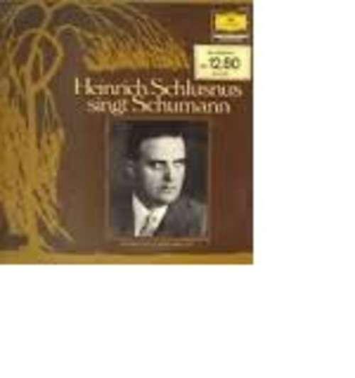 Bild Heinrich Schlusnus, Robert Schumann - Heinrich Schlusnus Singt Schumann (LP) Schallplatten Ankauf