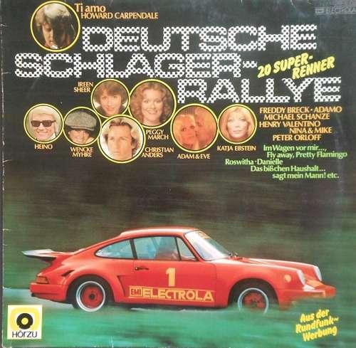 Bild Various - Deutsche Schlager-Rallye - 20 Super-Renner (LP, Comp) Schallplatten Ankauf